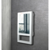 Kép 6/7 - Radialight QUADRO VISIO fali fürdőszobai fűtő ventilátor törölköző tartóval és tükörrel (1800 Watt)