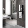 Kép 6/6 - Radialight WINDY VISIO fürdőszobai fűtő ventilátor tükörrel és törülköző tartóval (1800 W)