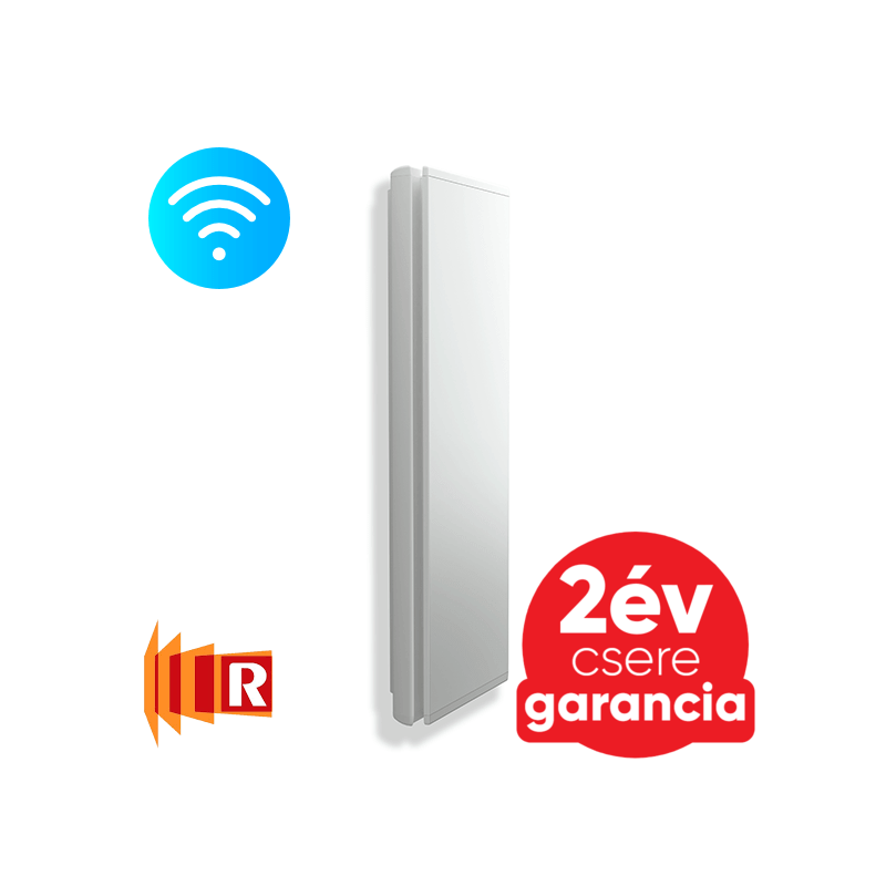 Radialight ICON 7 Wi-Fi elektromos radiátor (750W - fehér)