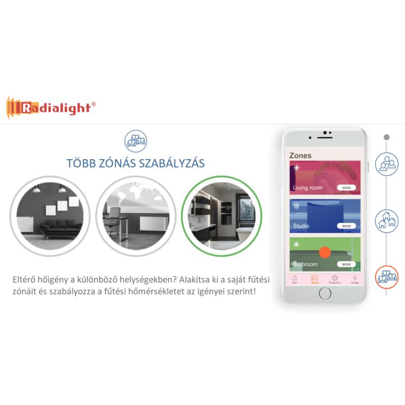 Radialight ICON Wi-Fi vezérlés