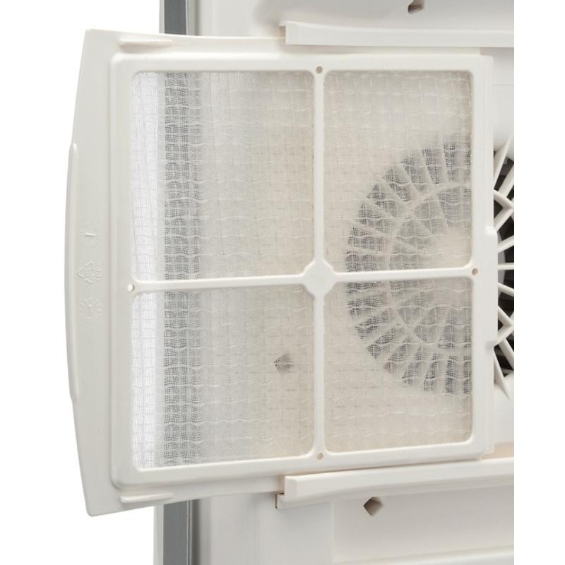 Radialight WINDY 2B fürdőszobai fűtő ventilátor törölköző szárító karral (1800 Watt)