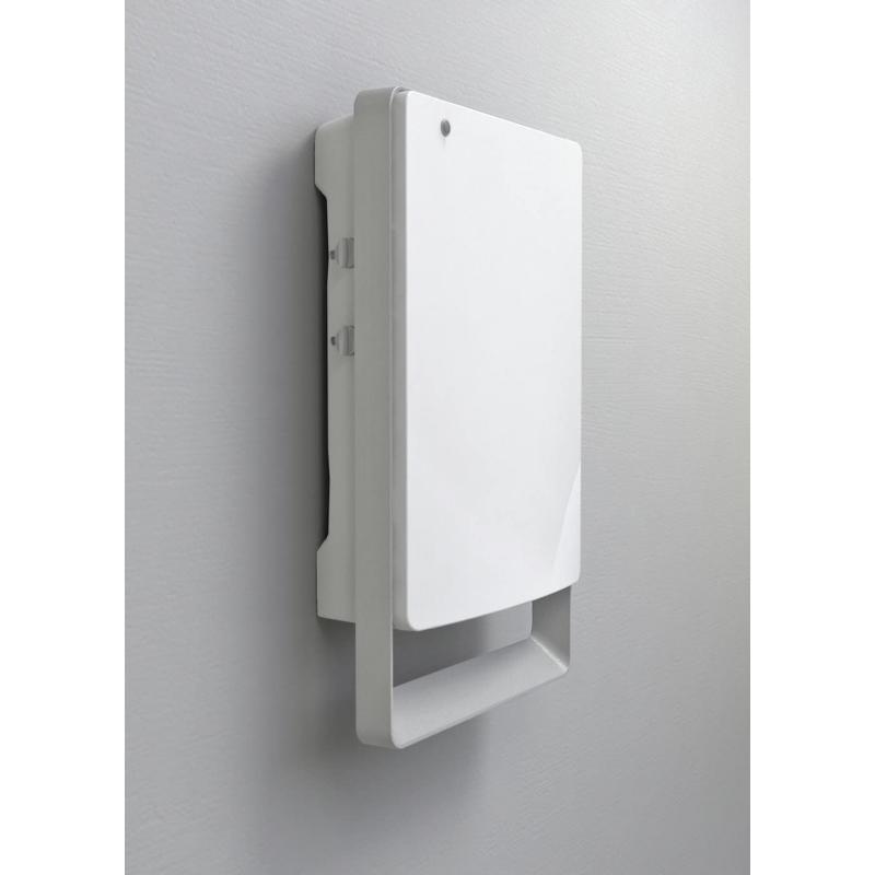 Radialight FOLIO fürdőszobai fűtő ventilátor időzíthető vezérléssel